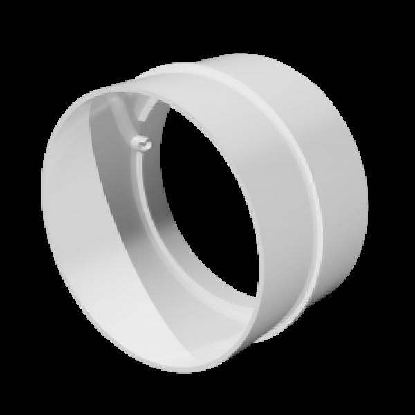 Conector pentru canale rotunde