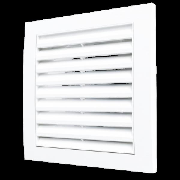 Grilă de ventilație detașabil cu flanșă