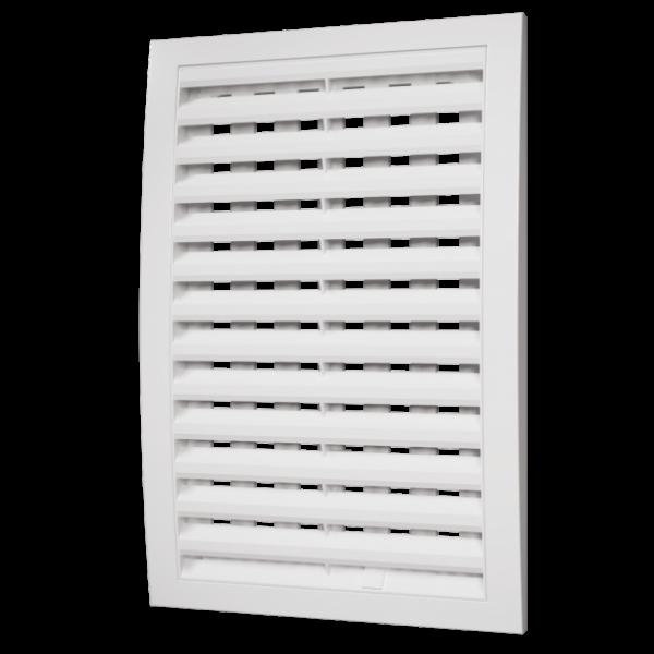 Grile de ventilație cu secțiune sub tensiune reglabilă, detașabile