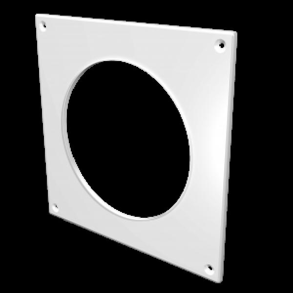 Placa de capăt pentru conducta rotundă de aer